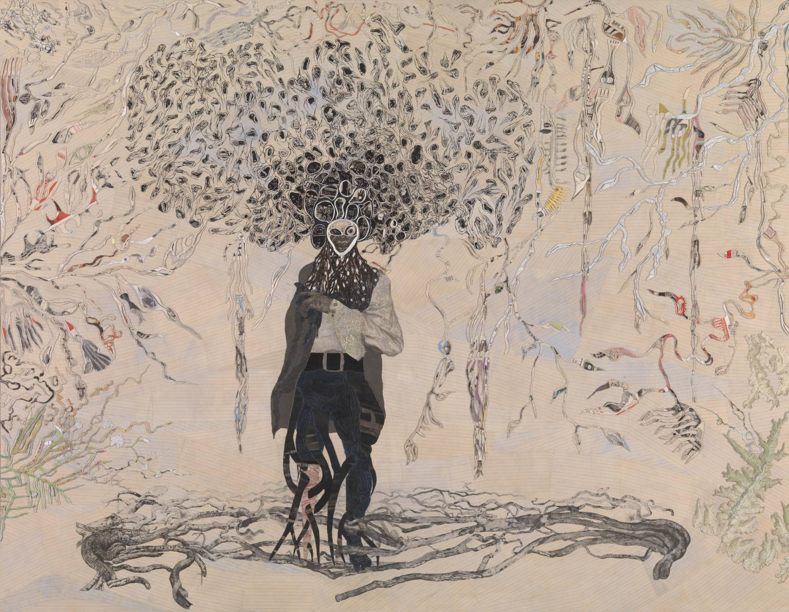 Bird in Hand 2006 by Ellen Gallagher born 1965