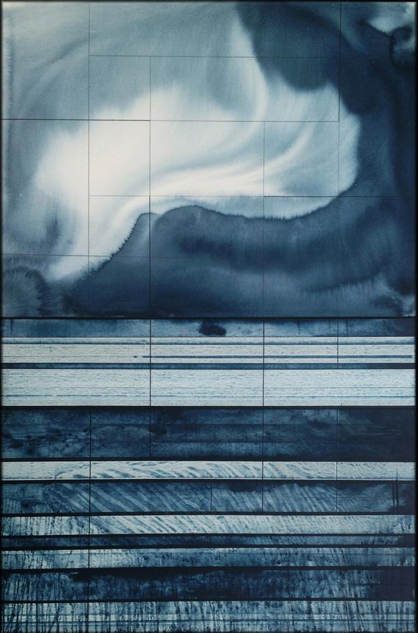 """Michael Kessler, """"Seabed (10),"""" 72"""" x 48"""""""