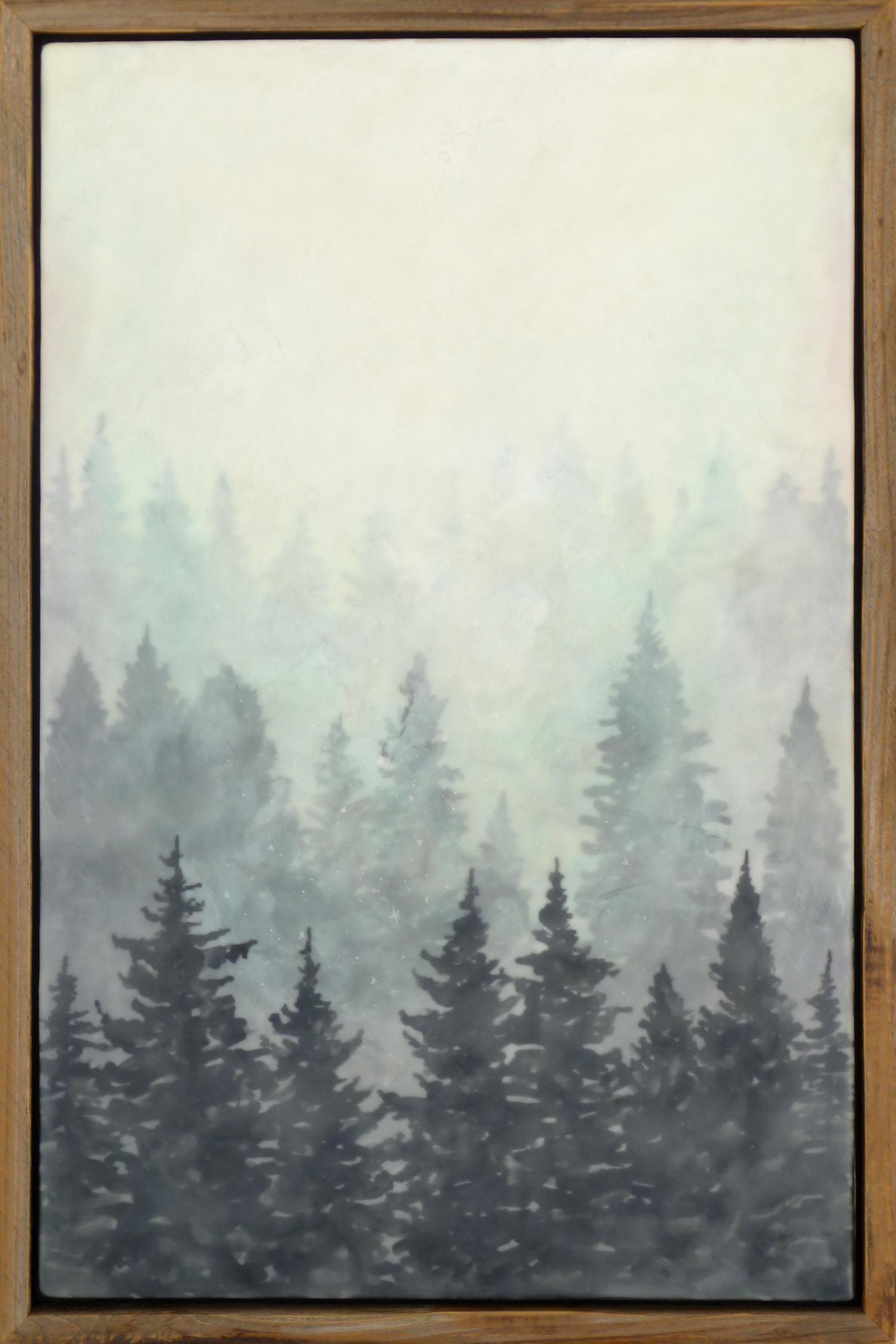 "Bridgette Meinhold, ""Cherished"" Encaustic Painting"