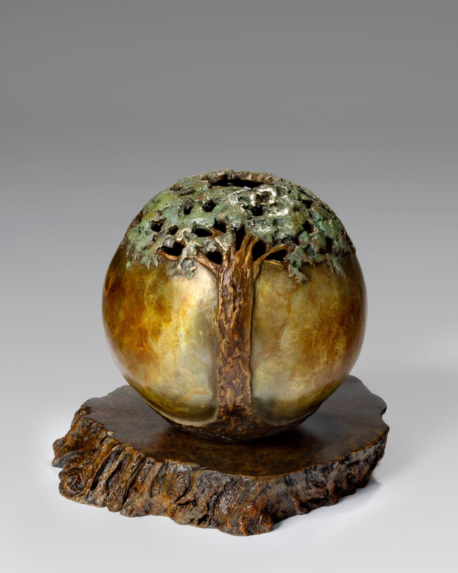 "Carol Alleman, ""Marriage of Spirit"" in Bronze"