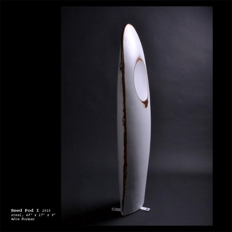 """Seed Pod"" sculpture, 2015"