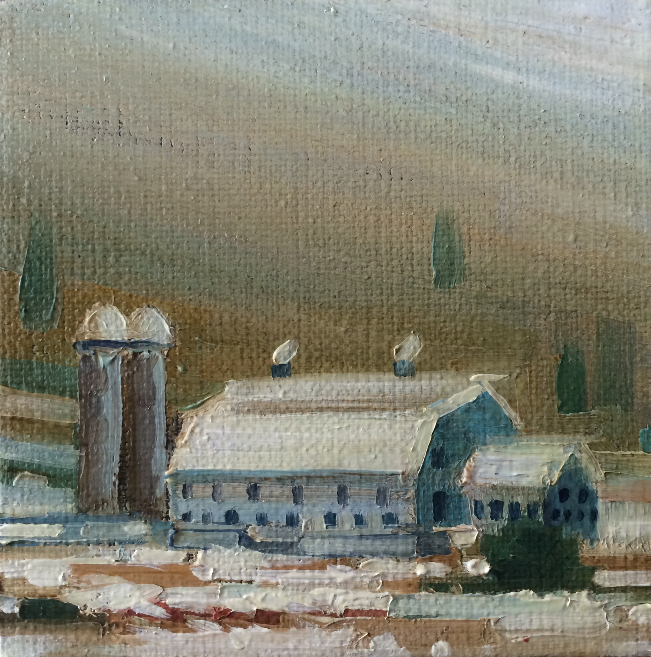 Aaron Memmott - Park City barn Miniature