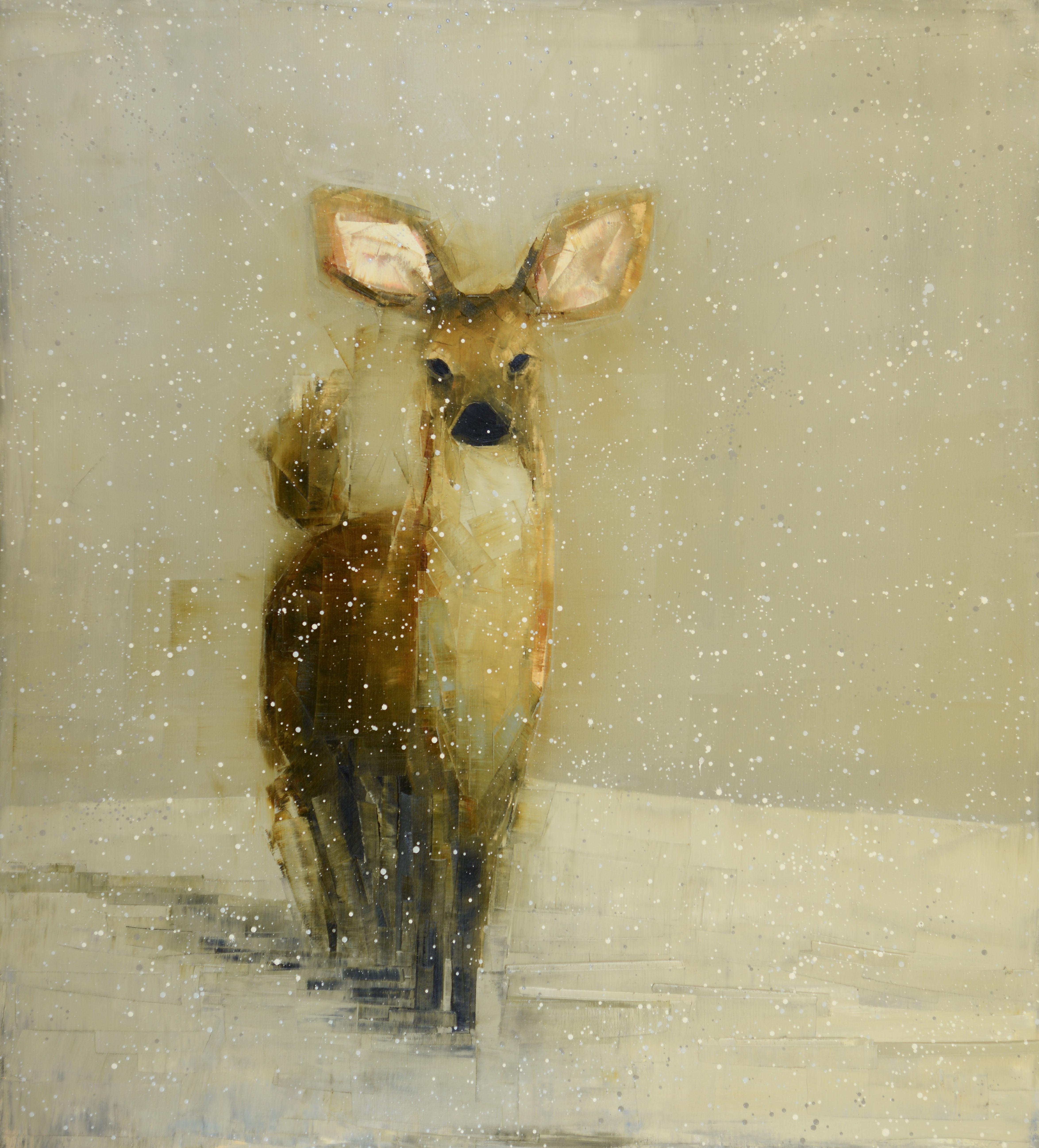 Rebecca Kinkead - Doe (Winter Field)