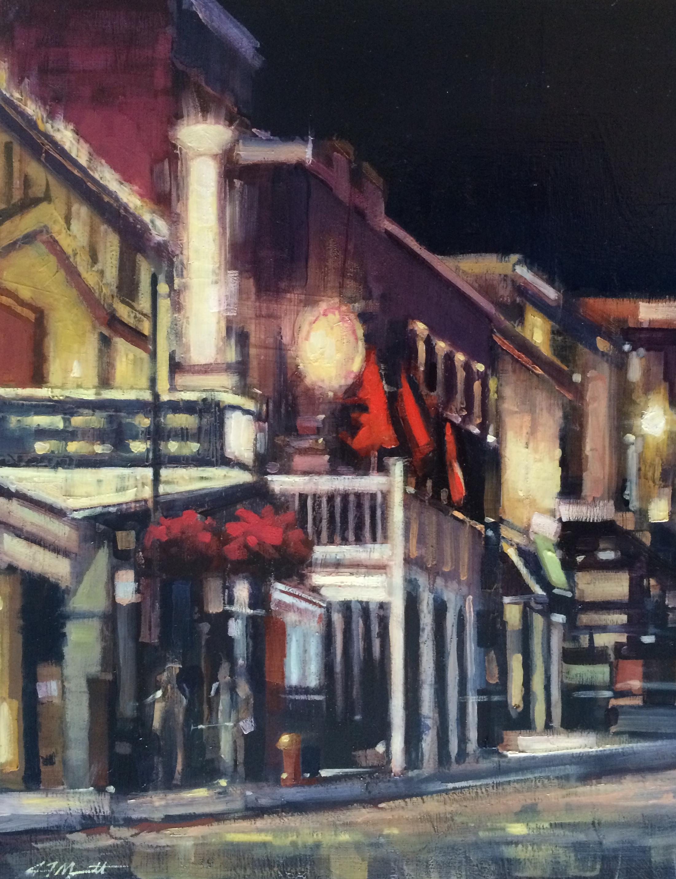 """""""Theater Glow"""" by Aaron Memmott, $975"""