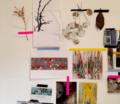 Nina Tichava Artist Studio