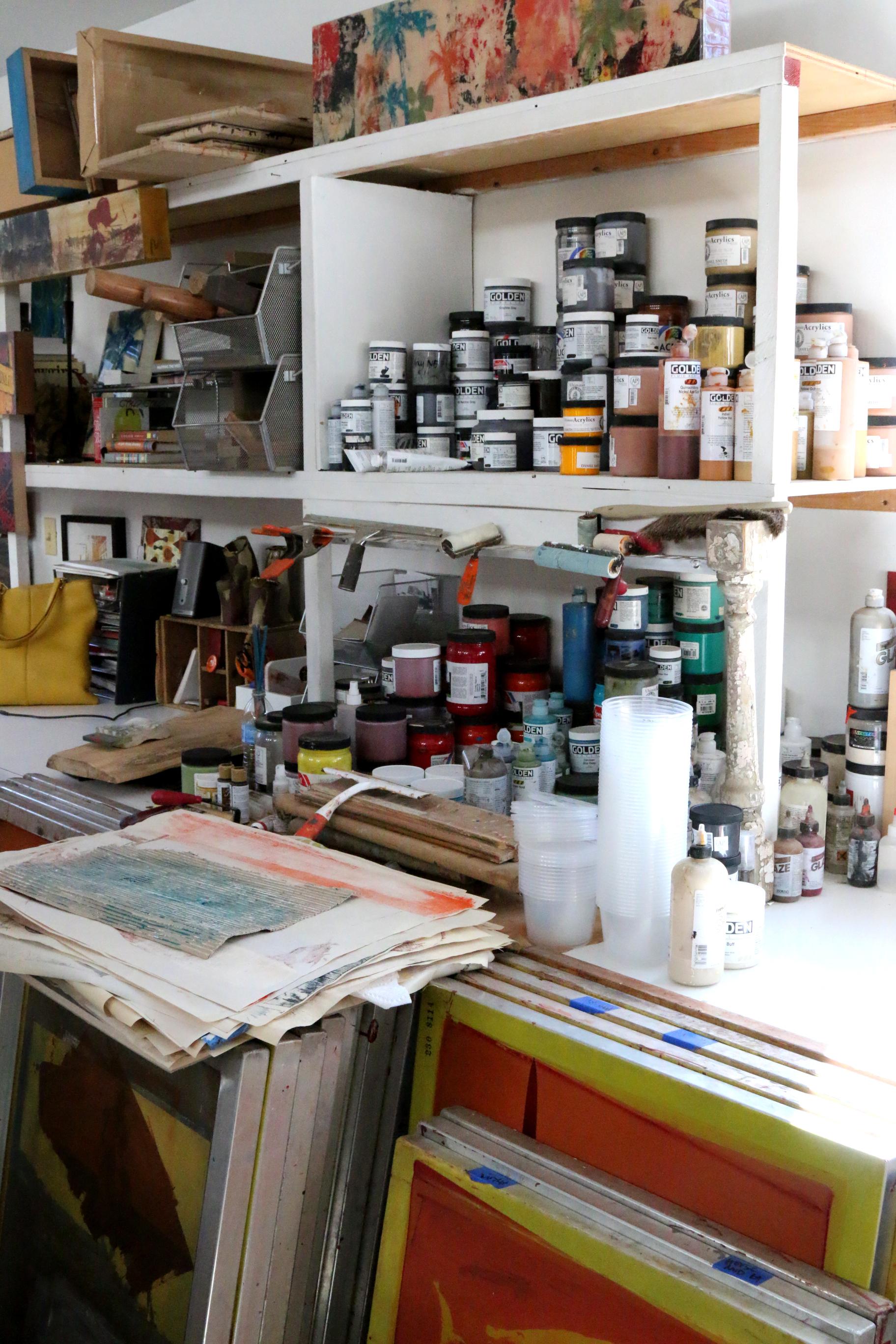 Maura Allen's Studio, 2014