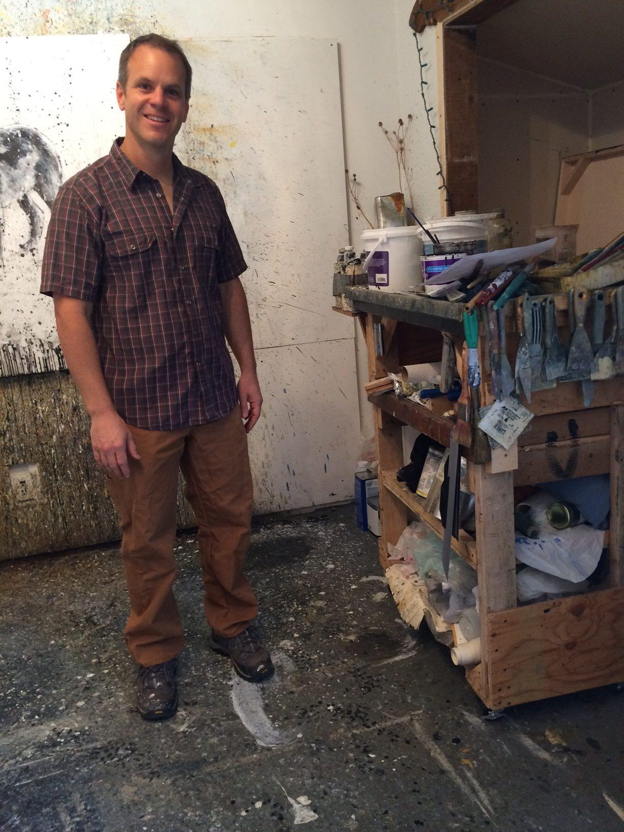 Matt Flint, studio visit