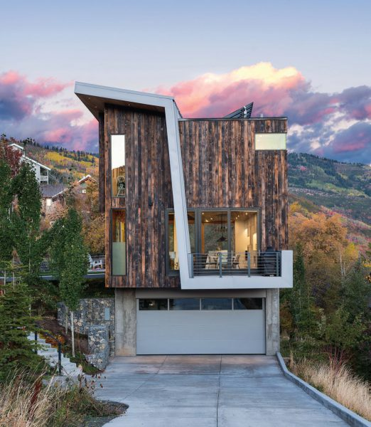 "Owner Maren Mullin's ""Dazzling Hillside Abode"""