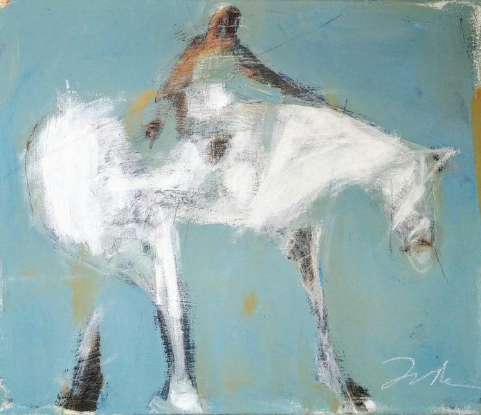 Kathy Taylor horse painting