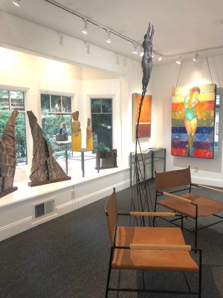 Gallery interior scene
