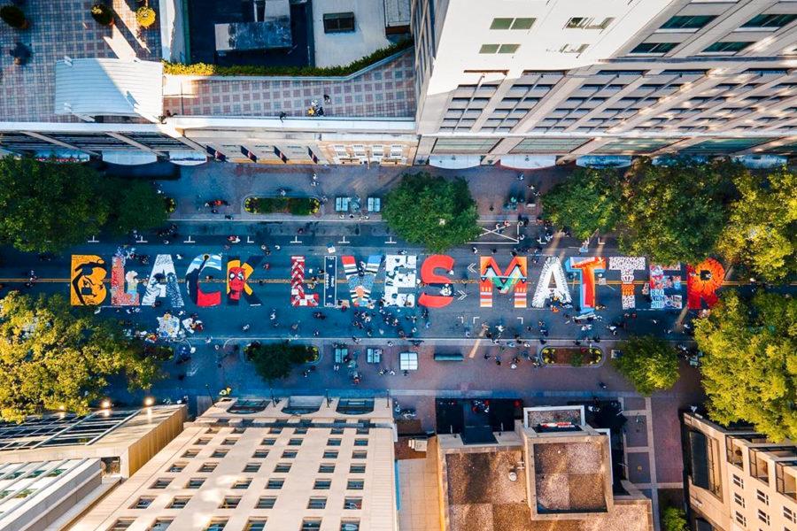 Black Lives Matter-Inspired Art Activism