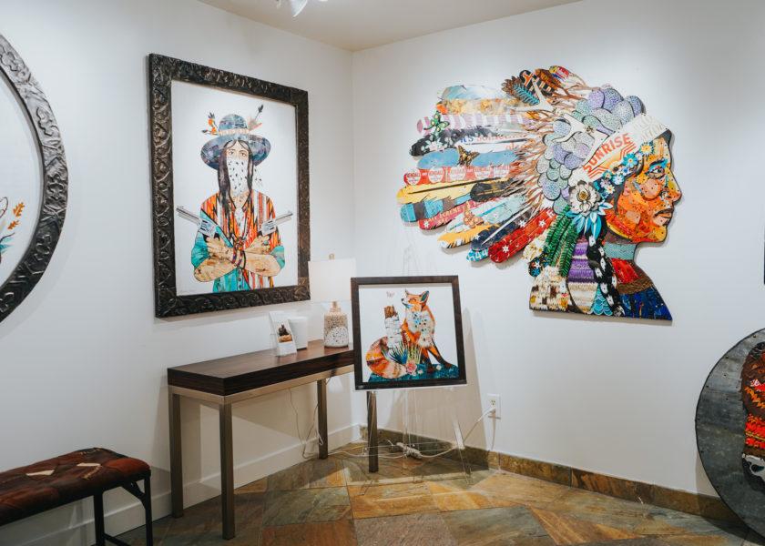 Artist Dolan Geiman at Gallery MAR