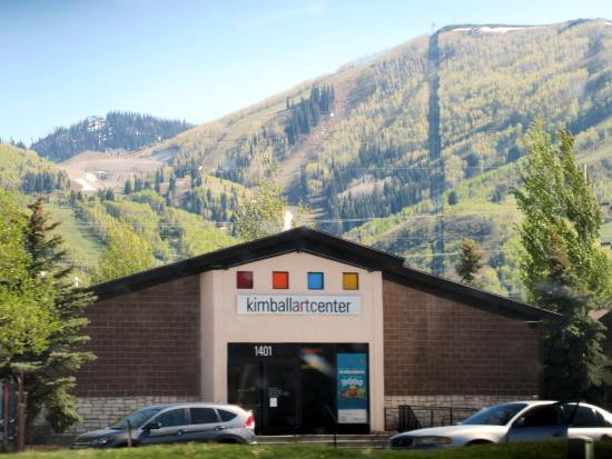 The current location of the Kimball Art Center in Park City, Utah