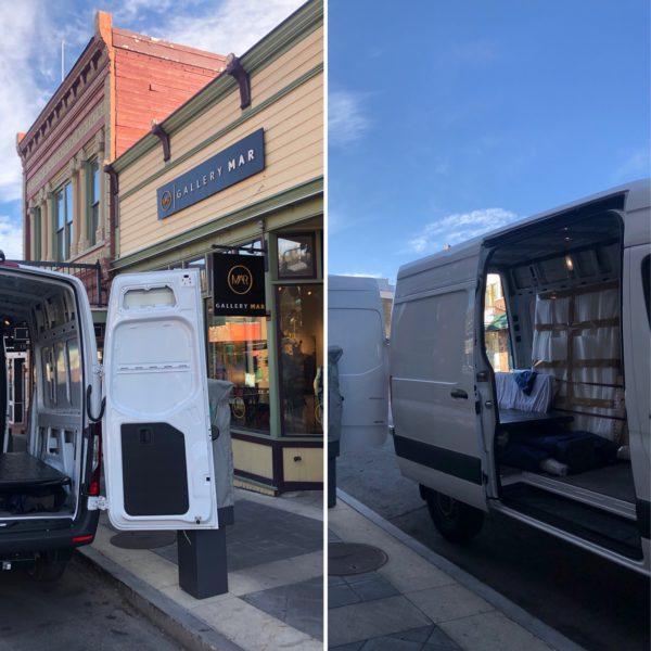 Our new Gallery MAR Art Van!