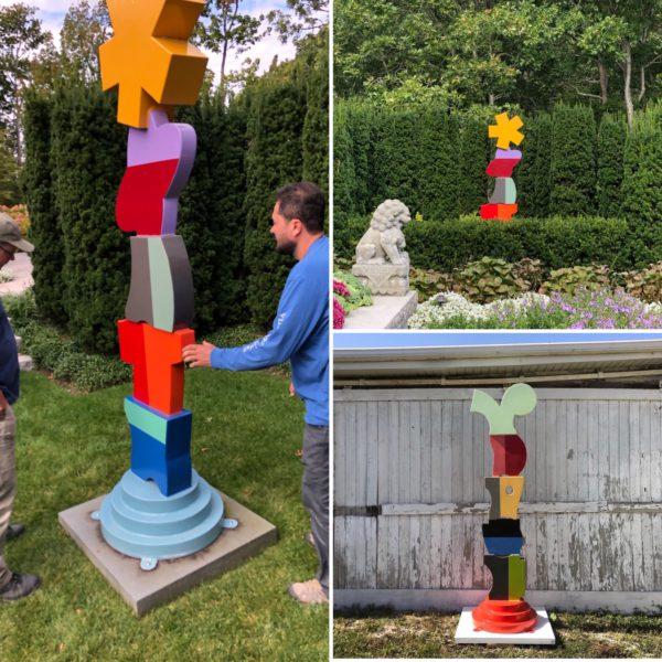 Visiting Richard Taylor's sculpture
