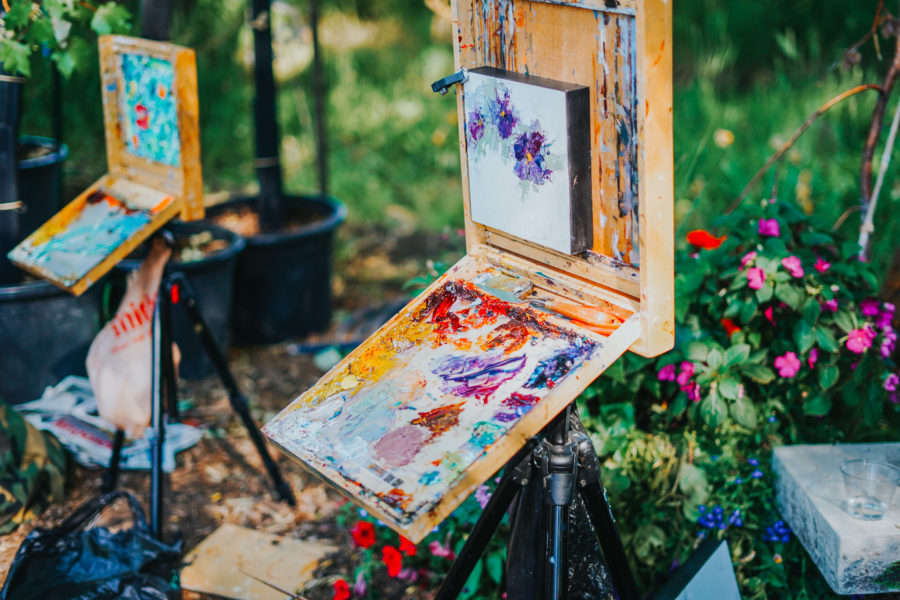 Park City Gardens Plein Air Paint Out, with Gallery MAR