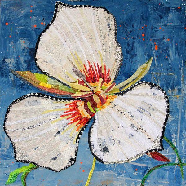 Jylian Gustlin Flora painting