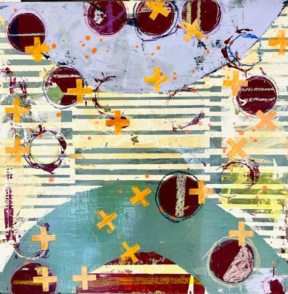 Jylian Gustlin Fibonacci painting